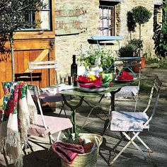 alfresco in the south of France