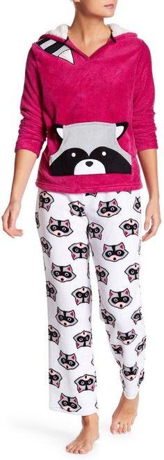 PJ Couture Raccoon Critter PJ 2-Piece Set