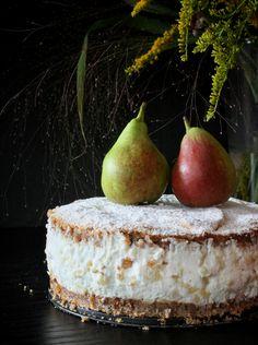 Hruškový dort s ricottou – The Olive