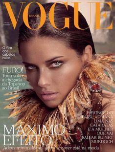 Adriana Lima on Vogue.