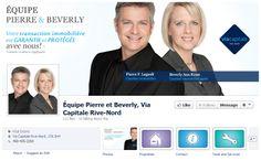 Équipe Pierre & Beverly #VIA #Facebook #courtier #immobilier