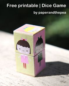 make your own doll dice game