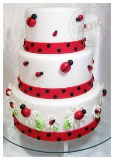 Lady Bugs #cake