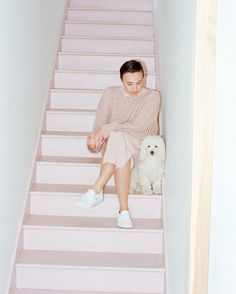 J.Crew X CVFF: Runner-up Ryan Roche. Meet the sweater designer and see her supersoft, superpink new collection for J.Crew. Read more on jcrew.com/blog.