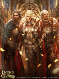 Legend of the Cryptids, fantasy, digital art Fantasy Warrior, Fantasy Girl, Fantasy Women, Warrior Queen, Warrior Princess, Fantasy Artwork, Paladin, Fantasy Characters, Female Characters