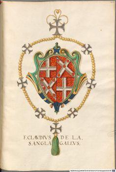 Coat of arms of Grand Master de la Sengle.