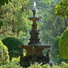 Botanic Garden fountain - Rio de Janeiro - Brazil