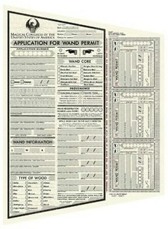 The MACUSA Application for Wand Permit