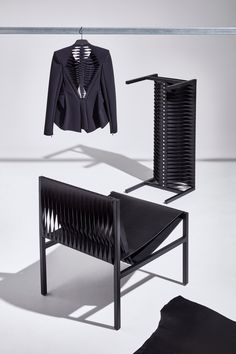 Dion Lee repurposes traditional tailoring techniques for leather furniture collection Gold Furniture, Leather Furniture, Furniture Ideas, Luxury Interior Design, Interior Design Inspiration, Australian Fashion Designers, Tailoring Techniques, Lounge Chair Design, Dion Lee