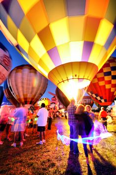 Balloon Glow, St. Louis