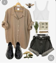 No 3 Outfit juvenil femenina moda Retro Outfits, Grunge Outfits, Cute Casual Outfits, Vintage Outfits, Summer Outfits, Polyvore Outfits Casual, Hipster School Outfits, Fall Outfits, Swaggy Outfits