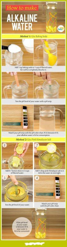How to Correctly Make Alkaline Water  Alkaline water is the latest trend that has the fitness world in a tizzy. Cyberspace is packed with a score of articles and discussions regarding alkaline water and its effects on physical health.:http://healthmagazinehouse.com/how-to-correctly-make-alkaline-water/