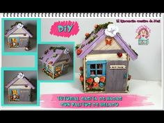 DIY CASITA DE HADAS CON PALITOS HELADO - YouTube Diy Dolls Tutorial, Doll Videos, Popsicle Sticks, Popsicles, Toy Chest, Something To Do, Home Accessories, Gingerbread, Projects To Try