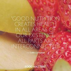 Healthy body. Healthy mind. www.foodmatters.tv