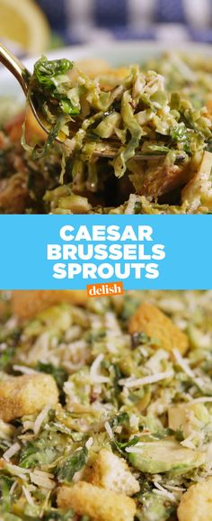 Brussels Sprouts CaesarDelish