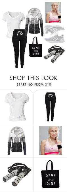 """""""Untitled #866"""" by lilachswan ❤ liked on Polyvore featuring Calvin Klein, NIKE, Ellie Ellie and adidas"""