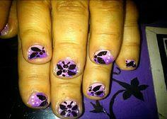 Black Nail Designs: Black Butterfly Short Nail Art ~ Nail Colors Inspiration