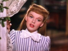 """Judy Garland as Esther Smith in """"Meet Me in St. Louis"""" 1944"""