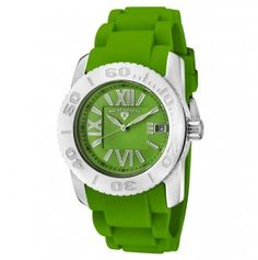 6e154a22a18 Women s Commander Green Textured Dial Green Silicone.... Love everything  about this.