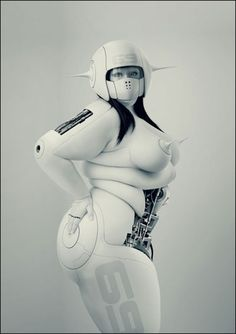 25 Amazing Futuristic Robot Character Designs by Benedict Campbell Harrison Ford, Blade Runner, 3d Character, Character Design, Koi, Cyberpunk 2020, Cyberpunk Fashion, Cyberpunk Art, Steampunk