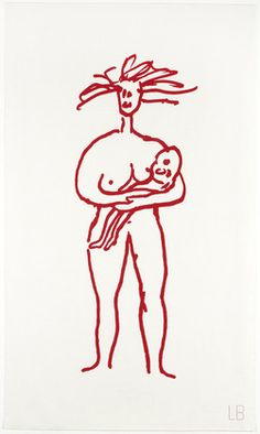Louise Bourgeois, Mother & Child, only state, 2007.