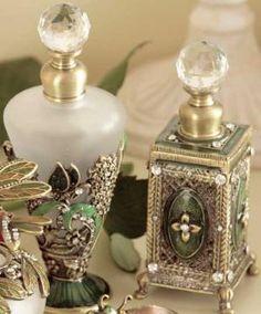 Bath & Body: Perfume Bottles. by cristina