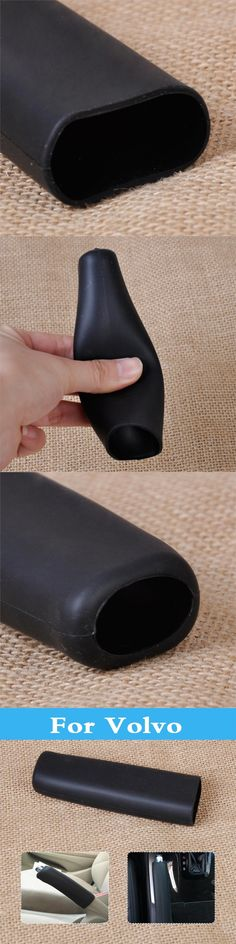 Car Auto  Anti Slip Parking Hand Brake Cover Sleeve For Volvo Xc60 Xc70 Xc90 C30 C70 S40 S60 S80 V40 V50 V60 Cross Country V70