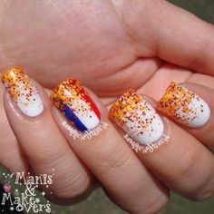 Let It Glitter - Hup Holland Hup!  http://manisandmakeovers.blogspot.com/2014/05/let-it-glitter-hup-holland-hup.html