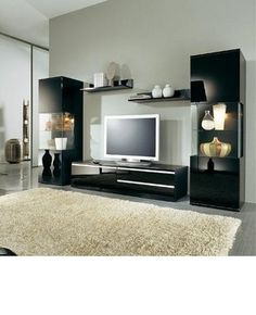 Modern Living Room Entertainment Centers
