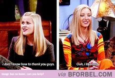 Phoebe Likes To Be Thanked Properly…