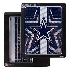 Dallas Cowboys Aluminum Keyboard iPad Case | Office | Home & Office | Accessories | Cowboys Catalog | Dallas Cowboys Pro Shop