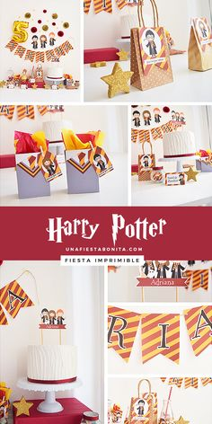 Kit imprimible para fiestas temática Harry Potter in 2020 Harry Potter Snacks, Baby Harry Potter, Harry Potter Baby Shower, Harry Potter Enfants, Harry Potter Motto Party, Harry Potter Fiesta, Harry Potter Thema, Theme Harry Potter, Harry Potter Bedroom