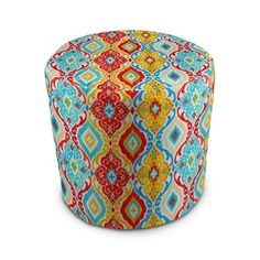 Stratford Home Eco Friendly Outdoor Decorative Pouf Ottoman (Fresca Fiesta) Made in America - It is what I expected.This Stratford Home that is Diy Mould Removal, Stratford Homes, Wicker Patio Furniture Sets, Mildew Stains, Outdoor Fabric, Outdoor Decor, Bistro Set, Diy Molding, Pouf Ottoman