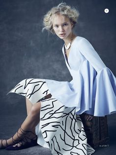 visual optimism; fashion editorials, shows, campaigns & more!: the new romantic: kim mclane by nicole bentley for marie claire australia november 2014
