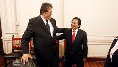 Alejandro Toledo y Alan García en reunión de líderes convocada por Ollanta Humala...