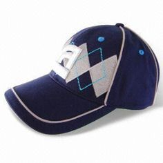 Men's Caps, Used for Baseball, Various Styles and Embroideries are Available