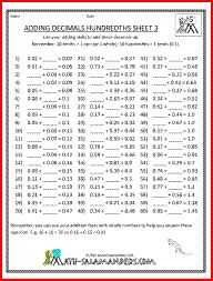 math worksheet : decimal multiplication decimal and multiplication worksheets on  : Rounding Decimals Worksheet 5th Grade