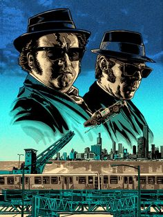 Blues Brothers by Tim Doyle