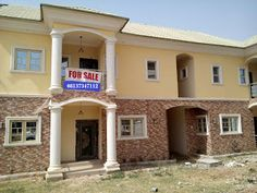 PRAISE CITY GLOBAL SERVICES LIMITED: THREE BEDROOM TERRACE DUPLEX FOR SALE IN ABUJA NIG...