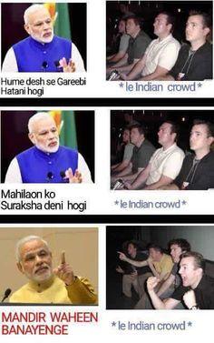 India in a nutshell! #HonestIndian