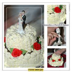Veronika a Pavel, svatební dort,