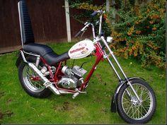 Fantic Chopper 50cc 1970's moped