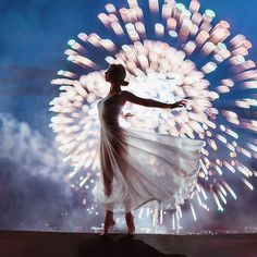 Moscow Firework Festival, Russia. Model: Nina