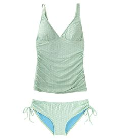 Is a flattering swimsuit possible?  Perhaps so.