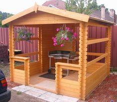 paredes de madera para jardin - Buscar con Google