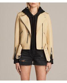 Balfern Leather Biker Jacket by All Saints