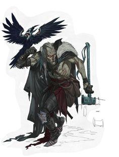 beyond-humankind:   Adannis - Battle Wizard by... - myD&D