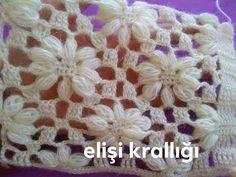 Ribbed Crochet, Crochet Motifs, Crochet Granny, Double Crochet, Easy Crochet, Crochet Lace, Crochet Stitches, Crochet Patterns, Knitting Videos