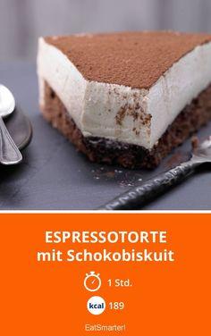 Espressotorte - mit Schokobiskuit - smarter - Kalorien: 189 Kcal - Zeit: 1 Std. | eatsmarter.de