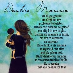 Baie Dankie, Thats So Me, Afrikaanse Quotes, Family Quotes, Wisdom Quotes, My Mom, Clip Art, Sayings, Words
